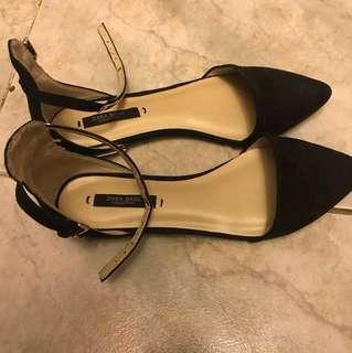 Shoes | ZARA | 平底鞋 | BLK