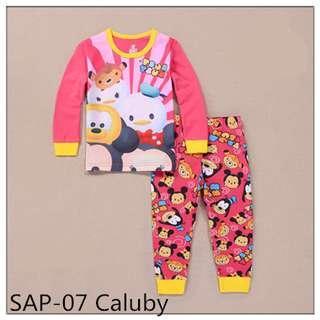 Tsum tsum girl long sleeve pajamas SAP07