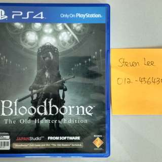 PS4 Bloodborne The Old Hunter R3 Eng/Chi