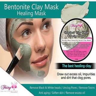 Bentonite Clay Face and Body Mask 150grams
