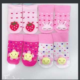 3D baby socks