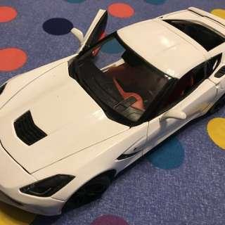 1:18 雪弗蘭(Chevrolet Z06 14式) 鋁合金模型車
