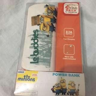 Minions充電器power bank