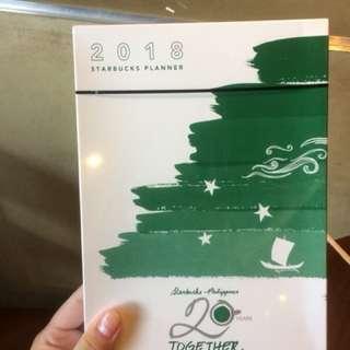 Starbucks 2018 Planner (Sealed)