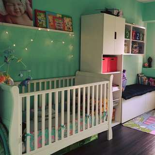 Cot bed for baby