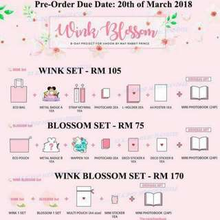 Park Ji Hoon Birthday Project Goods Wink Blossom