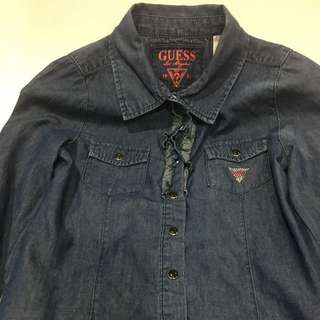 CNY Sale - Guess Kids Denim Blouse for Girls