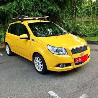Chevrolet Aveo5 1.4 Manual 5dr