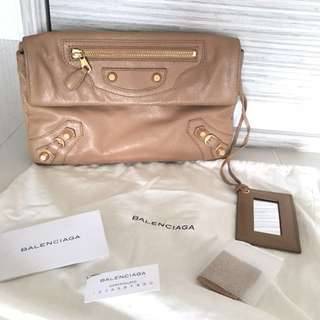 Balenciaga Envelope Clutch