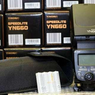 FS: YN660 Speedlite Manual Flash
