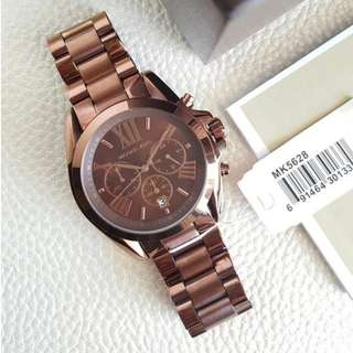 Michael Kors Bradshaw Chronograph Large Espresso Brown 43mm, MK5628