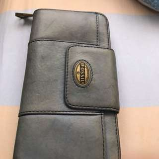 Fossil Wallet leather