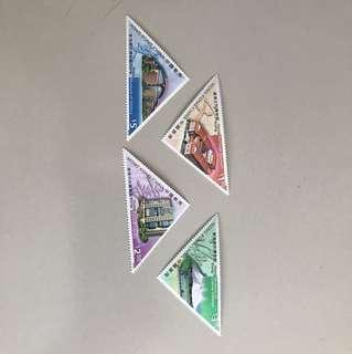 香港三角型郵票