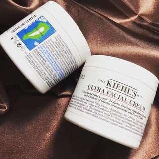Kiehl's Ultra Facial Cream 特效保濕乳霜