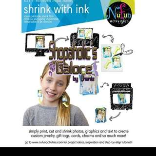 NUFUN PRINTABLE SHRINK FILM