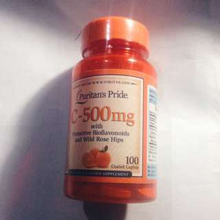 Vitamin C-500 mg Puritan's Pride