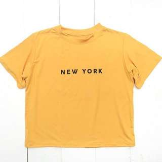 Mustard New York Shirt