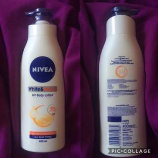 Nivea White and Repair UV Body Lotion