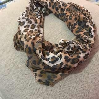 Shawl / Syal Leopard