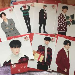 Got7 日巡 Turn up photo card $50一張