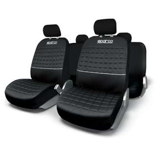 Sparco Seat Covers SPC1042SV (Black)