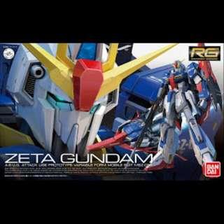 RG 1/144 MSZ-006 Zeta Gundam new