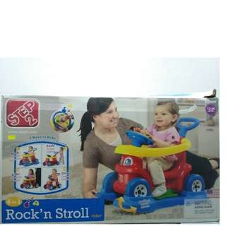 4-IN-1 Rock and Stroll Rider (Red) - ST823900