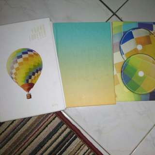 ALBUM BTS YOUNG FOREVER DAY VER NO PC NO POSTER.