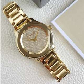 Michael Kors Pave Crystal Midsize Gold 41mm, MK6209