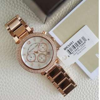 Michael Kors Parker Chronograph Midsize Rose Gold 39mm, MK5491