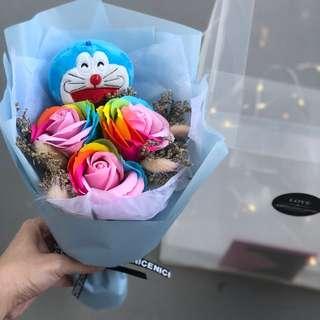 ❤️Doraemon bouquet valentine day