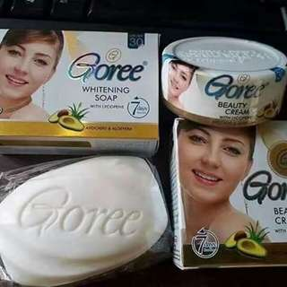 Goree Whitening Set (soap & cream)