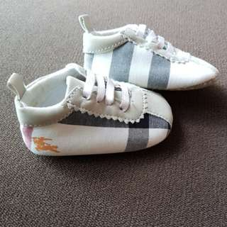 """Burberry"" Baby Shoes"