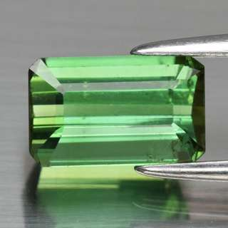 1.55ct Octagon Natural Green Tourmaline
