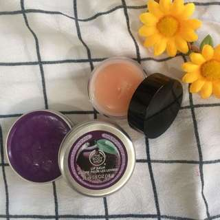 Bodyshop Lip Balm and Lip Treatment