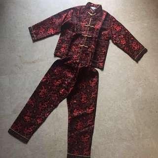 Preloved Boy's Cheongsam set for sale !