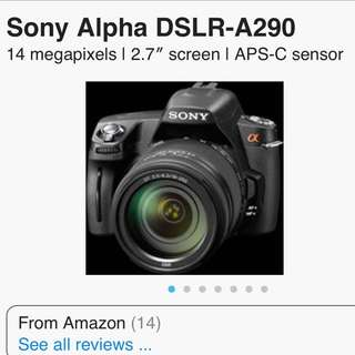 selling used sony A290.