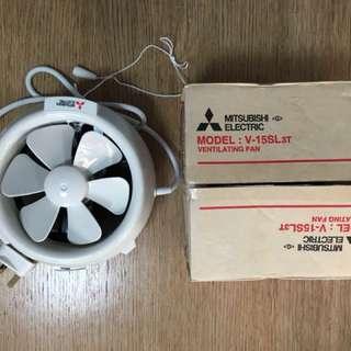 三菱抽氣扇(全新)$200(香港用)