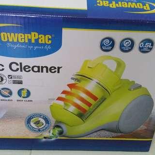 Powerpac bagless vacuum cleaner