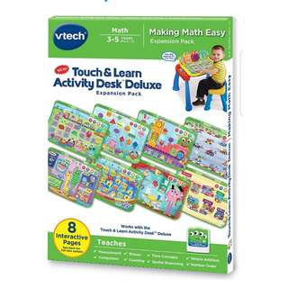 Vtech touch & learn activity