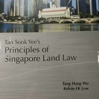 Principles of Singapore Land Law (Tan Sook Yee) Student edition