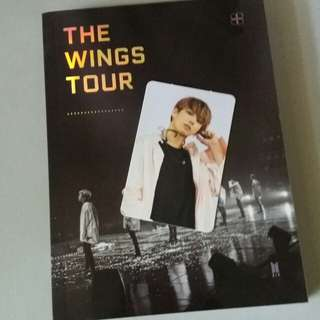 [WTS] BTS wings tour dvd in Seoul photobook and JK photocard