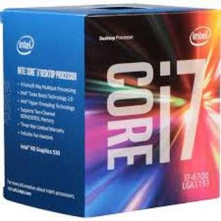 Intel® Core™ i7-6700 Processor + ASUS H170m-Plus