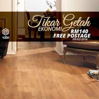 Beautiful Tikar Getah Flooring