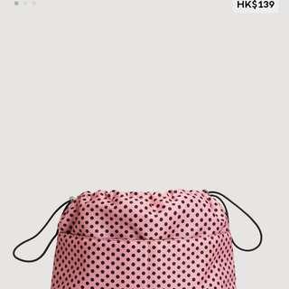 Mango Polkadot Makeup Bag