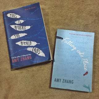 Amy Zhang Book (Bundle)