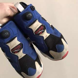 Reebok pump fury高達色 39碼