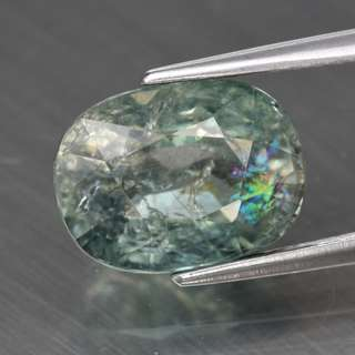 3.13ct Oval Natural Green Tourmaline