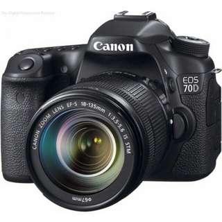 Canon EOS 70DL 18-135mm STM WIFI  bisa kredit tanpa cc
