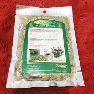 Teh Pelangsing Herbal Alami Daun Jati Cina